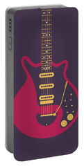 Red Special Guitar - Black Portable Battery Charger