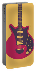 Red Special Guitar - Gold Portable Battery Charger