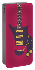 Glam Rock Digital Art Portable Battery Chargers