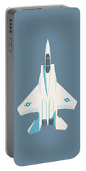 F15 Eagle Fighter Jet Aircraft - Slate Portable Battery Charger