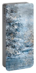 In The Snowy Silence Portable Battery Charger