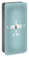 P51 Mustang Fighter Aircraft - Sky Portable Battery Charger