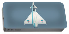 Typhoon Jet Fighter Aircraft - Slate Portable Battery Charger