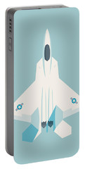 F22 Raptor Jet Fighter Aircraft - Sky Portable Battery Charger