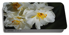 Bunch Of Spring, Daffodils Portable Battery Charger