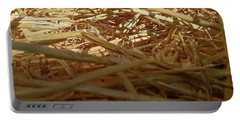 Golden Straw Bed Portable Battery Charger