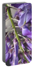 Young Buds Wisteria Flowers Portable Battery Charger