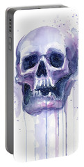 Skull In Space Portable Battery Charger