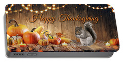 Happy Thanksgiving Portable Battery Charger