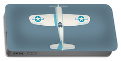 Corsair Fighter Aircraft - Slate Portable Battery Charger
