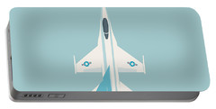 F-16 Falcon Fighter Jet Aircraft - Sky Portable Battery Charger