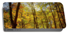 Portable Battery Charger featuring the photograph As The Leaves Turn  by Edmund Nagele