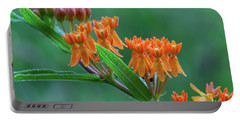 Portable Battery Charger featuring the photograph Asclepias Tuberosa by Dale Kincaid