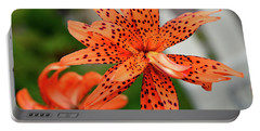 Asian Tiger Lily Portable Battery Charger