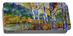 Aspen Bears At Emmigrant Gap Portable Battery Charger