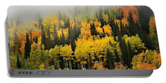 Aspens In Fog Portable Battery Charger