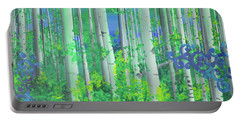 Aspens In July Portable Battery Charger