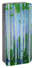 Aspens In Summer Portable Battery Charger