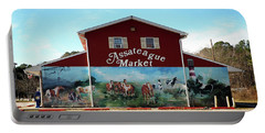 Portable Battery Charger featuring the photograph Assateague Market by Bill Swartwout Fine Art Photography