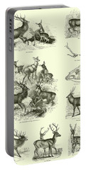 Assorted Deer Portable Battery Charger