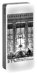 Athenaeum Reading Room Portable Battery Charger