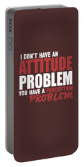 Attitude Problem Portable Battery Charger