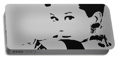 Audrey B W Portable Battery Charger