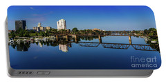 Augusta Ga Savannah River Panorama Portable Battery Charger