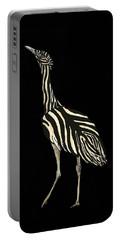 Australian Bustard Zebra 1 Portable Battery Charger