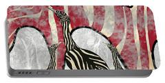 Australian Bustard Zebra 8 Portable Battery Charger