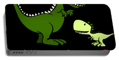 Autsaurus Rex Who Happens To Cuss A Lot Science Portable Battery Charger
