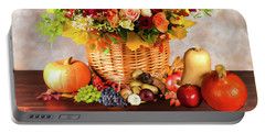 Autum Harvest Portable Battery Charger