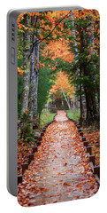 Autumn At Jesup Path Portable Battery Charger