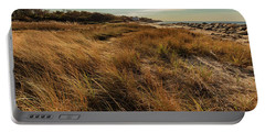 Autumn At The Beach Cape Cod Portable Battery Charger