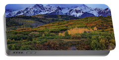 Autumn At The Dallas Divide Portable Battery Charger