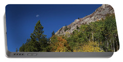 Portable Battery Charger featuring the photograph Autumn Bella Luna by James BO Insogna