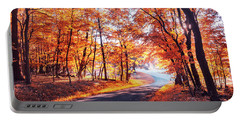 Autumn Calling Portable Battery Charger