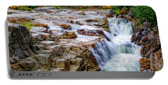 Autumn Color At Rocky Gorge Portable Battery Charger