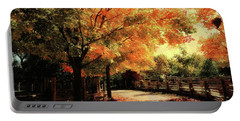 Autumn Country Walk Portable Battery Charger