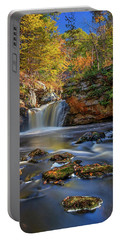 Autumn Day At Doane's Falls Portable Battery Charger