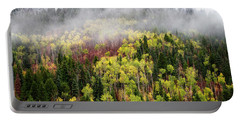 Portable Battery Charger featuring the photograph Autumn Fog by Michael Ash