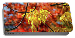 Portable Battery Charger featuring the photograph Autumn Foliage In Bar Harbor, Maine by Bill Swartwout Fine Art Photography