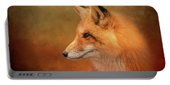 Autumn Fox Portable Battery Charger