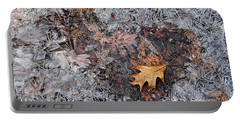 Autumn Freezing Over Portable Battery Charger