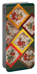 Autumn Fruit And Leaves Portable Battery Charger