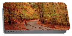 Autumn In Holmdel Park Portable Battery Charger