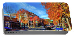 Portable Battery Charger featuring the photograph Autumn In Pullman by David Patterson