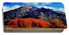 Autumn In Taos New Mexico Portable Battery Charger