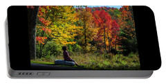 Autumn Leaves In The Catskill Mountains Portable Battery Charger