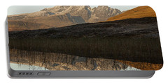 Portable Battery Charger featuring the photograph Autumn Meets Winter At Blaven by Stephen Taylor